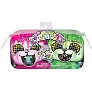 Zoomer Tiere mit Lutscher Doppelpack - pink grün - Interaktives Spielzeug