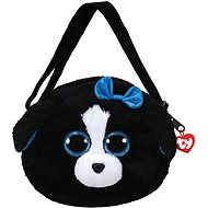 Ty Gear Shoulder Bag Tracey - Black/White Dog 15 cm - Plüschspielzeug