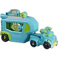 Transformers Rescue Bot Auto mit Hoist RescueTrailer Anhänger - Figur
