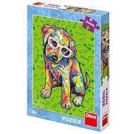 Dino Welpe mit Brille - Puzzle
