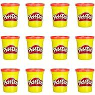 Play-Doh Paket mit 12 Bechern rot - Knetmasse