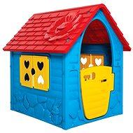 Kleines Haus mit Blume - Kinderspielhaus