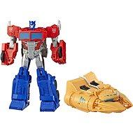 Transformers Cyberverse Figur Optimus Prime mit Zubehör - Autorobot