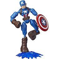 Avengers Bend und Flex Captain America - Figur