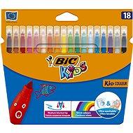 Thin Kid Felt Tips, 18pcs - Felt Tip Pens