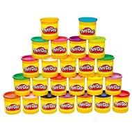 Play-Doh Packung mit 24 Tiegel - Knetmasse