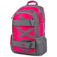 Rucksack OXY Sport NEON LINE Pink - Schulrucksack