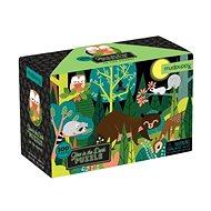 Leuchtendes Puzzle - Im Wald (100 Teile) - Puzzle