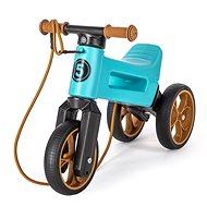 Funny Wheels Super Sport 2in1 Türkis - Laufrad/Bobby Car