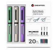 Sheaffer Calligraphy, Maxi Kit 2019, Mint, White, Purple - Fountain pen