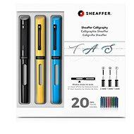 Sheaffer Calligraphy, Maxi Kit 2019, Black, Yellow, Blue - Fountain pen
