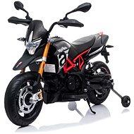 Aprilia Dorsoduro 900, schwarz - Elektromotorrad für Kinder
