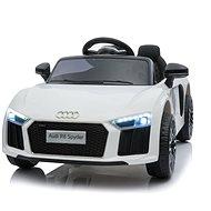 Audi R8 klein, weiß - Elektroauto für Kinder