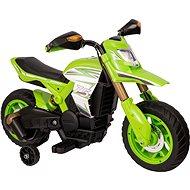 HTI Motorrad grün - Elektromotorrad für Kinder