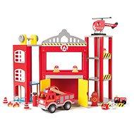 Woody groß Feuerwehr mit Autos - Spielset