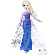Frozen Puppe Elsa mit schimmerndem Kleid und Freund - Spielset