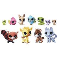 Spielset Littlest Pet Shop, Sammlung von 11 Tieren - Spielset