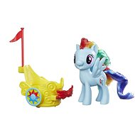 My Little Pony - Rainbow Dash Königlicher Gala-Wagen - Spielset