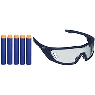 Nerf Elite Kinderschutzbrille + 5 Stück Munition - Kindergewehr