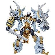 "Transformers ""The last Knight"" Premier Deluxe Dinobot Slug Gelb - Figur"