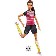 Mattel Barbie Made to Move - Fußballspielerin - Puppe