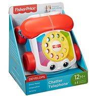 Fisher-Price - Telefon zum Ziehen - Interaktives Spielzeug