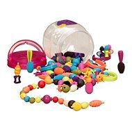 B-Toys Spojovací korále a tvary Pop Arty 150 ks - Kreativset