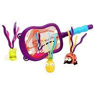 B-Toys Hubba Hippopotamus Netz mit Wasserspielzeug - Wasserspielzeug
