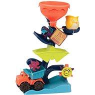 B-Toys Vodní mlýnek s náklaďákem - Sandplatz-Set