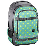 Hama All Out Selby Backpack Mint Dots - Schulranzen-Set