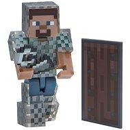 Minecraft Steve in Kettenrüstung - Figur