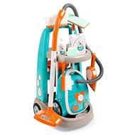 Smoby Trolley für die kleine Putzfrau mit Staubsauger - Spielset
