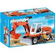 PLAYMOBIL® 6860 Schaufelbagger mit Räumschild - Baukasten