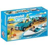 PLAYMOBIL® 6864 Surfer-Pickup mit Speedboot - Baukasten