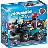 Playmobil 6879 Ganoven-Quad mit Seilwinde - Baukasten