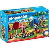 PLAYMOBIL® 6888 Zeltlager mit LED-Lagerfeuer - Baukasten