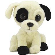 Ein lachender und frecher Hund - Stoffspielzeug