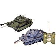 Battle T-34 und Tiger (2 Panzer) - Panzer mit Fernsteuerung