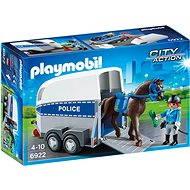 PLAYMOBIL® 6922 Berittene Polizei mit Anhänger - Baukasten