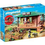 PLAYMOBIL® 6936 Rangerstation mit Tieraufzucht - Baukasten
