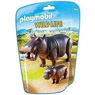 PLAYMOBIL® 6945 Nilpferd mit Baby - Figuren