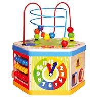 Bino Aktiver Würfel 7in1 - Didaktisches Spielzeug