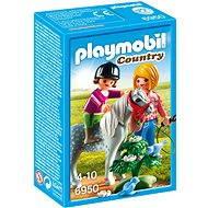 PLAYMOBIL® 6950 Spaziergang mit Pony - Baukasten