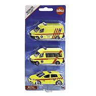 Siku Krankenwagen Satz von 3 Autos CZ - Spielautoset