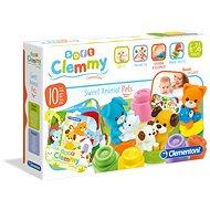 Clementoni Baby Clemmy Haustiere - Spielzeug für die Kleinsten