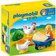 PLAYMOBIL® 6965 Bäuerin mit Hühnern - Spielzeug für die Kleinsten