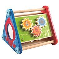 Hape Fröhliches, didaktisches Dreieck mit Aktivitäten - Holzspielzeug