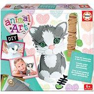 Educa Animal Art - Bastle deine eigene Katze - DIY für Kinder