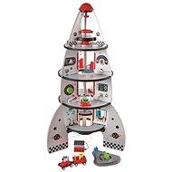 Hape Vierstöckige Weltraumrakete - Holzspielzeug