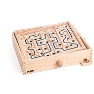 Tischspiel Woody Kugellabyrinth aus Holz